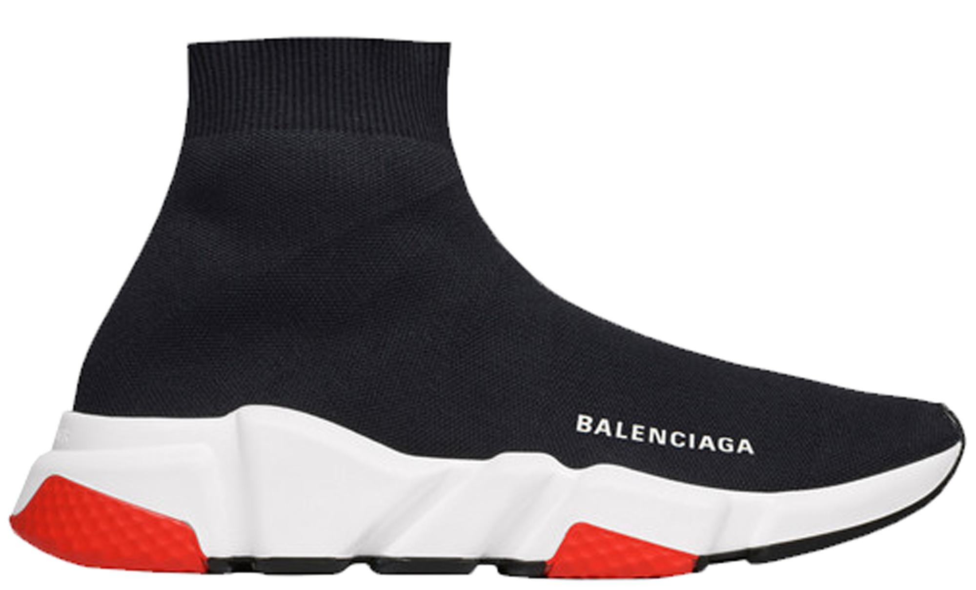 Balenciaga Speed Trainer Black Red 2019 (W)