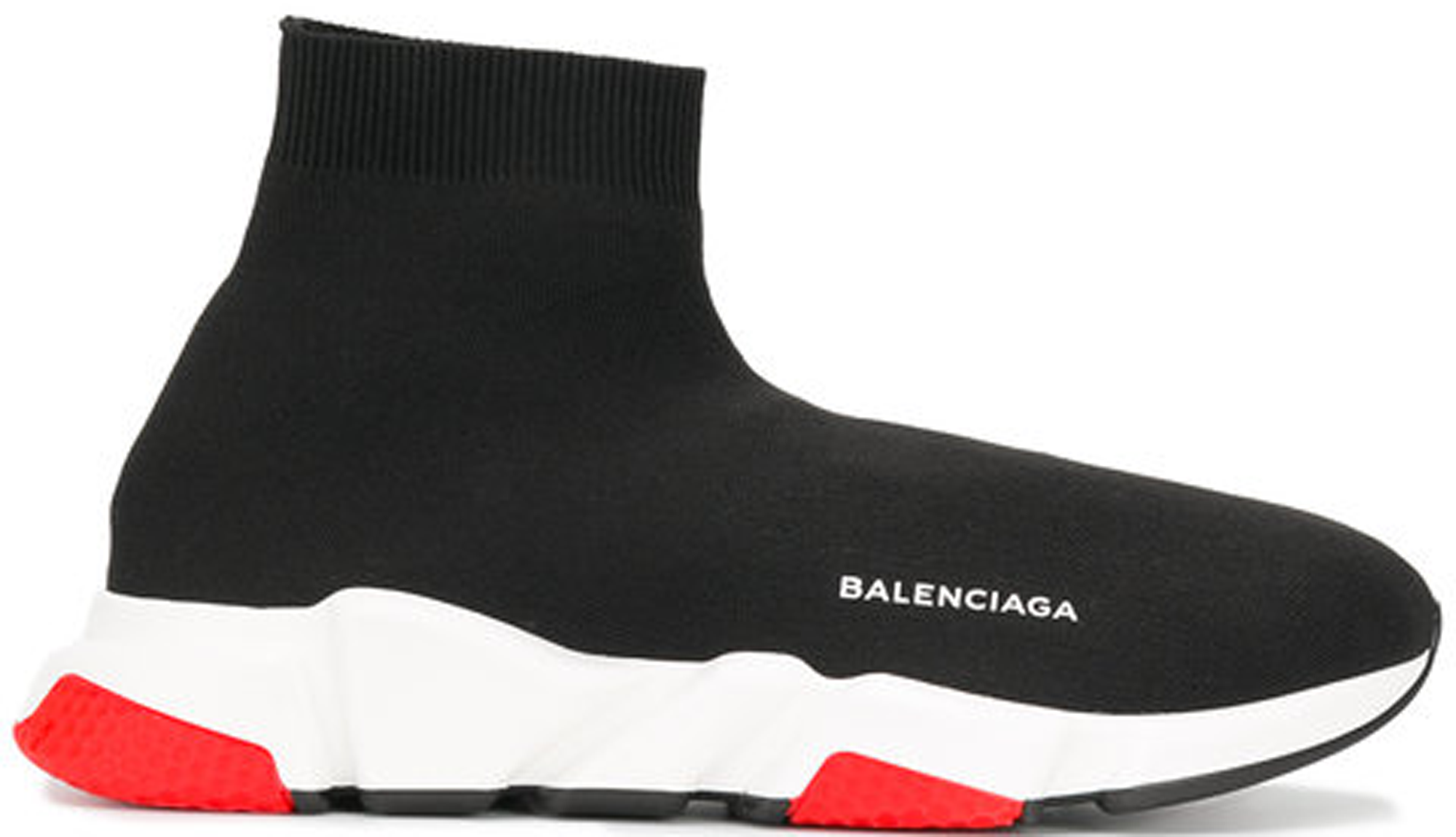 Black And Red Balenciaga Sneakers | The