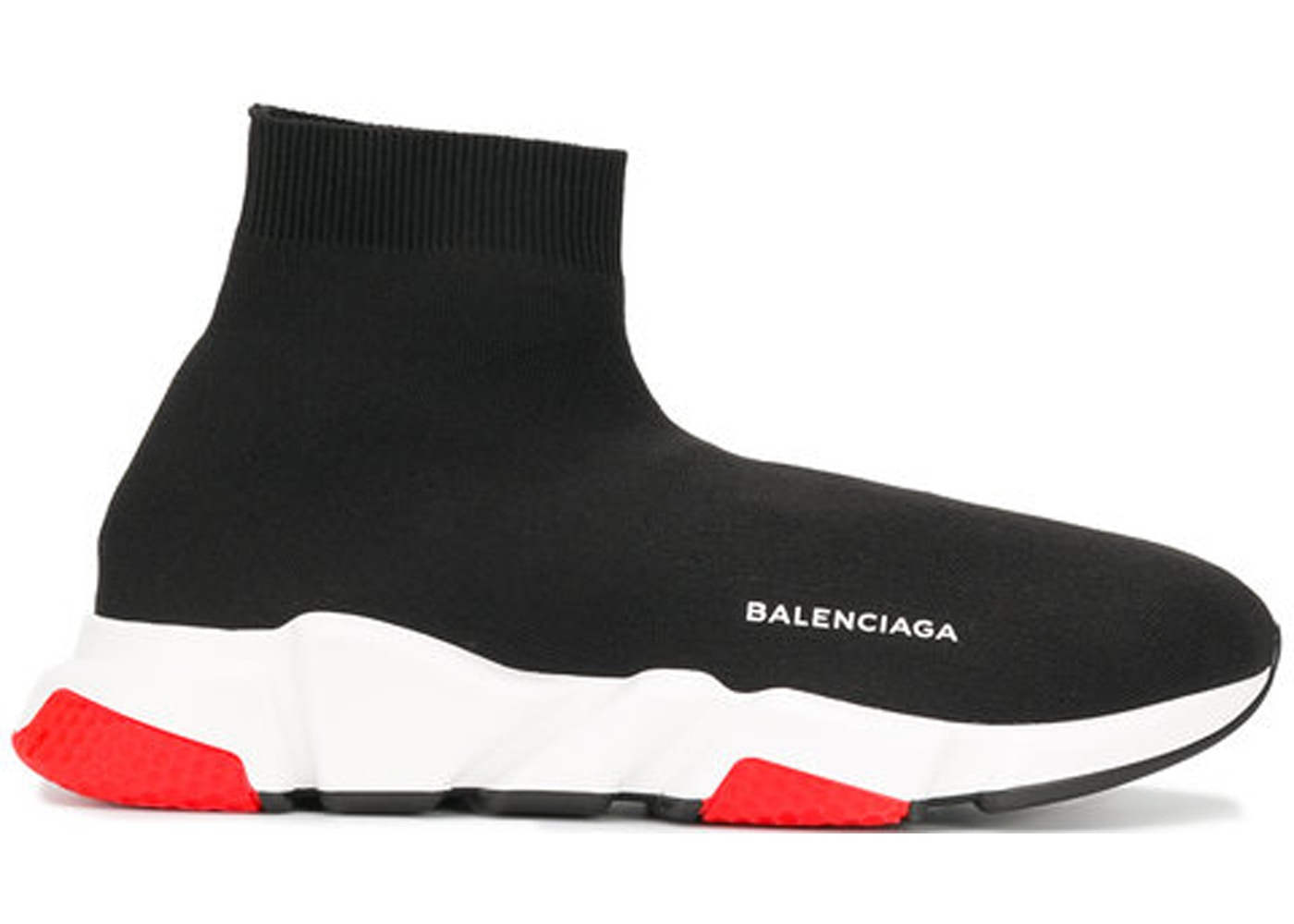 7fd5c8150d Balenciaga Speed Trainer Black Red - 530351 W05G0 1000