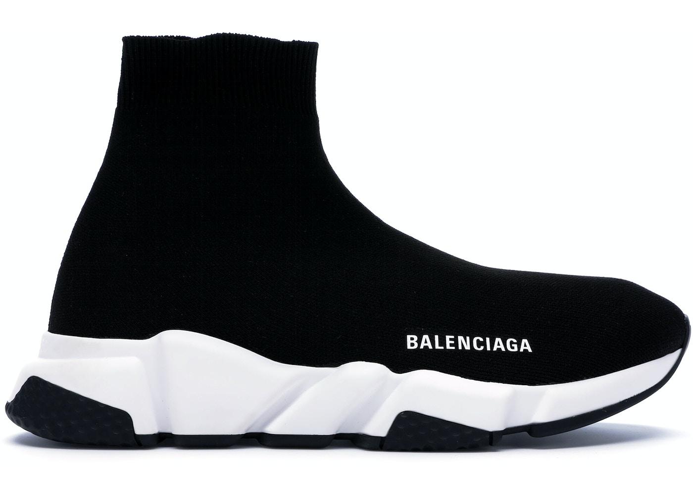 ca1a5c80efa4 Balenciaga Speed Trainer Black White (2018) - 530349 W05G9 1000