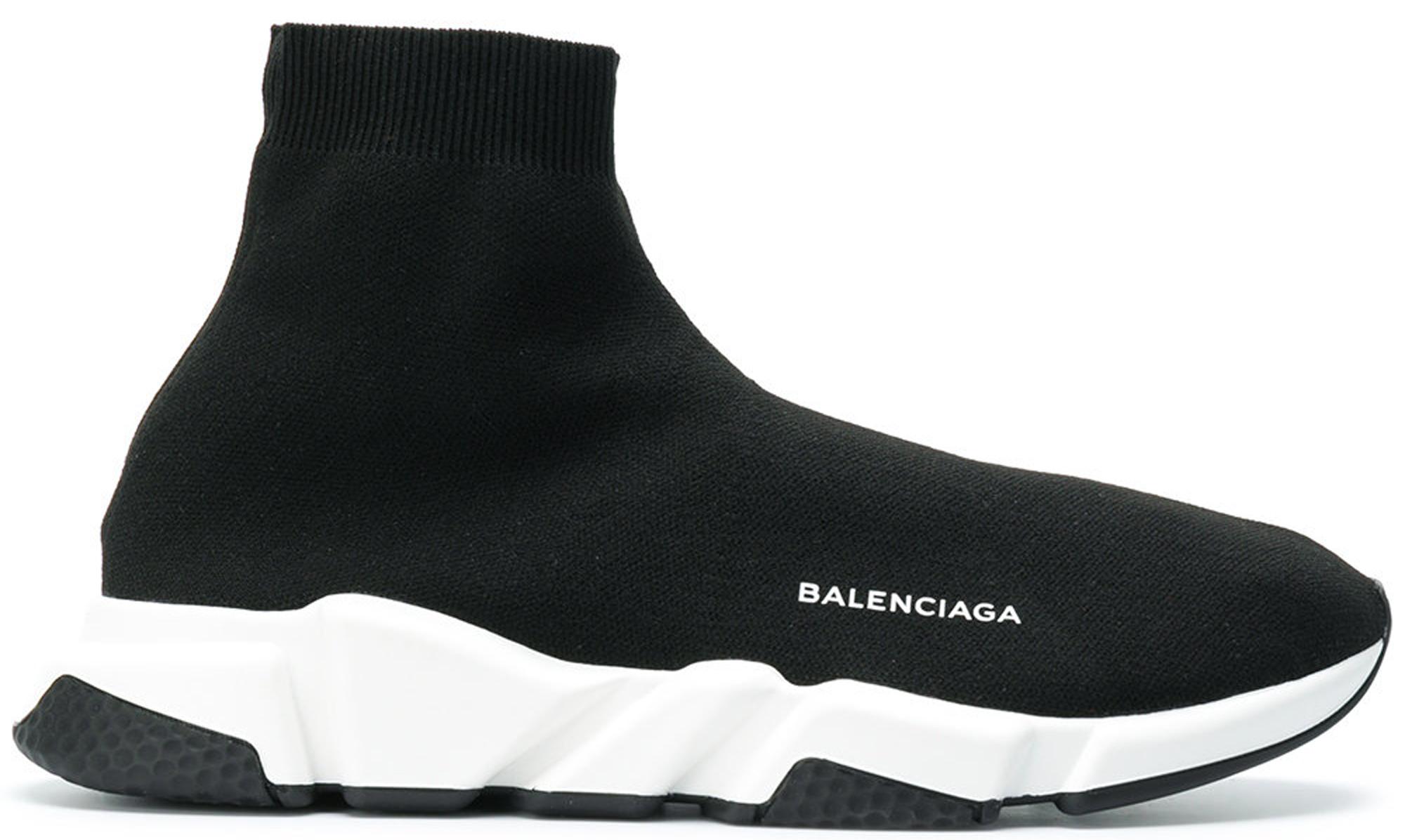 Balenciaga Speed Trainer Black White (2018)
