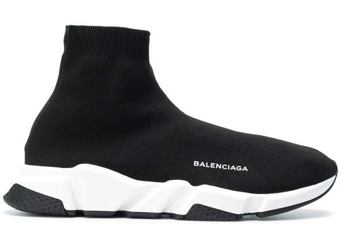 Balenciaga Speed Trainer Black White Black สตรีท สนีกเกอร์ street sneaker
