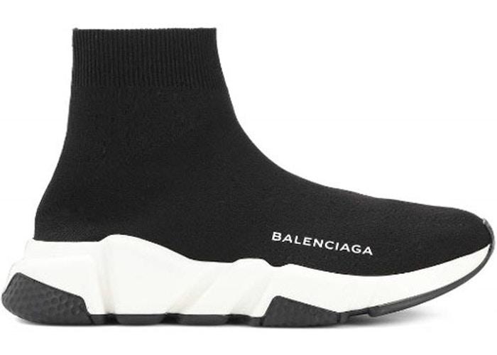 Balenciaga Speed Trainer Black White (W)