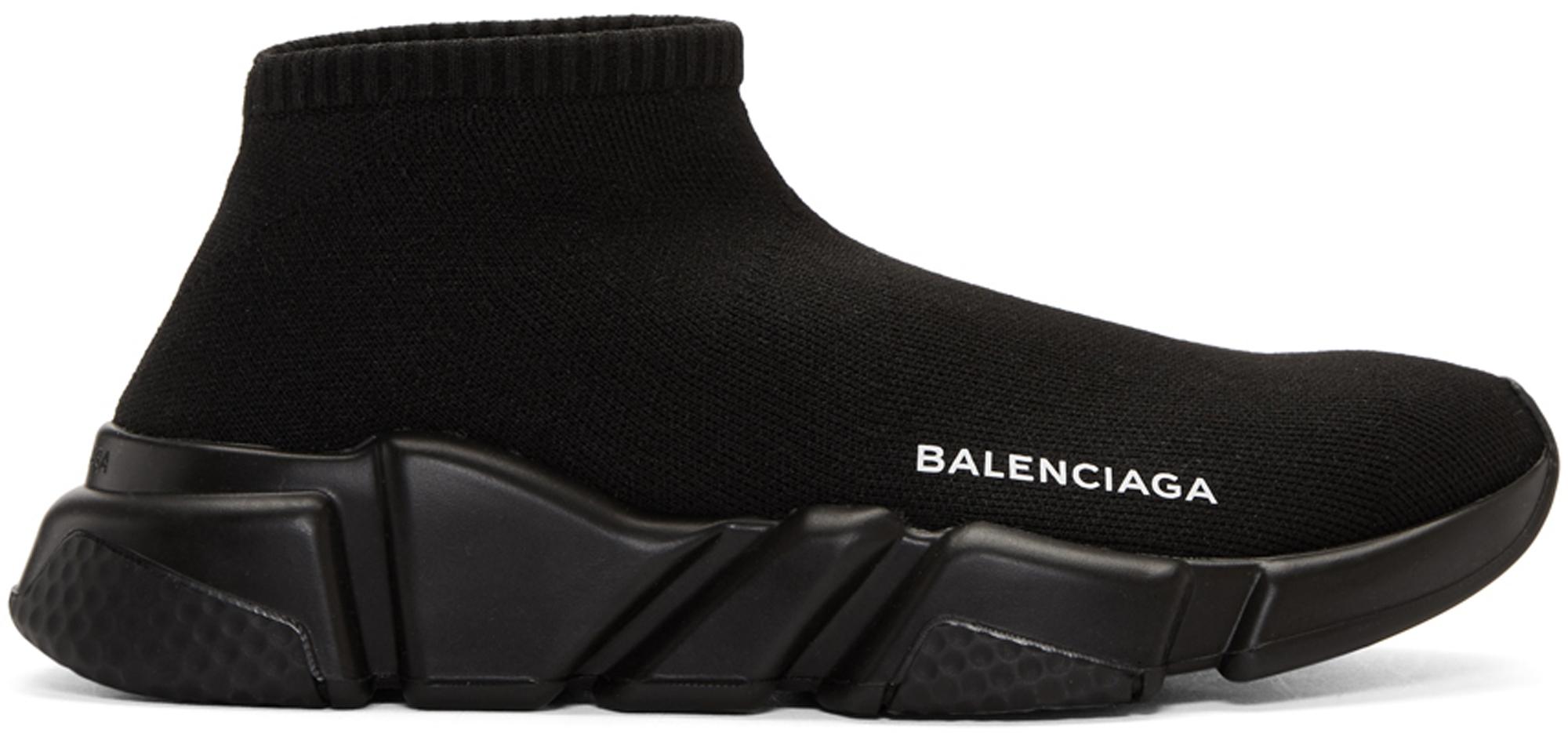 Balenciaga Speed Trainer Low Black (W