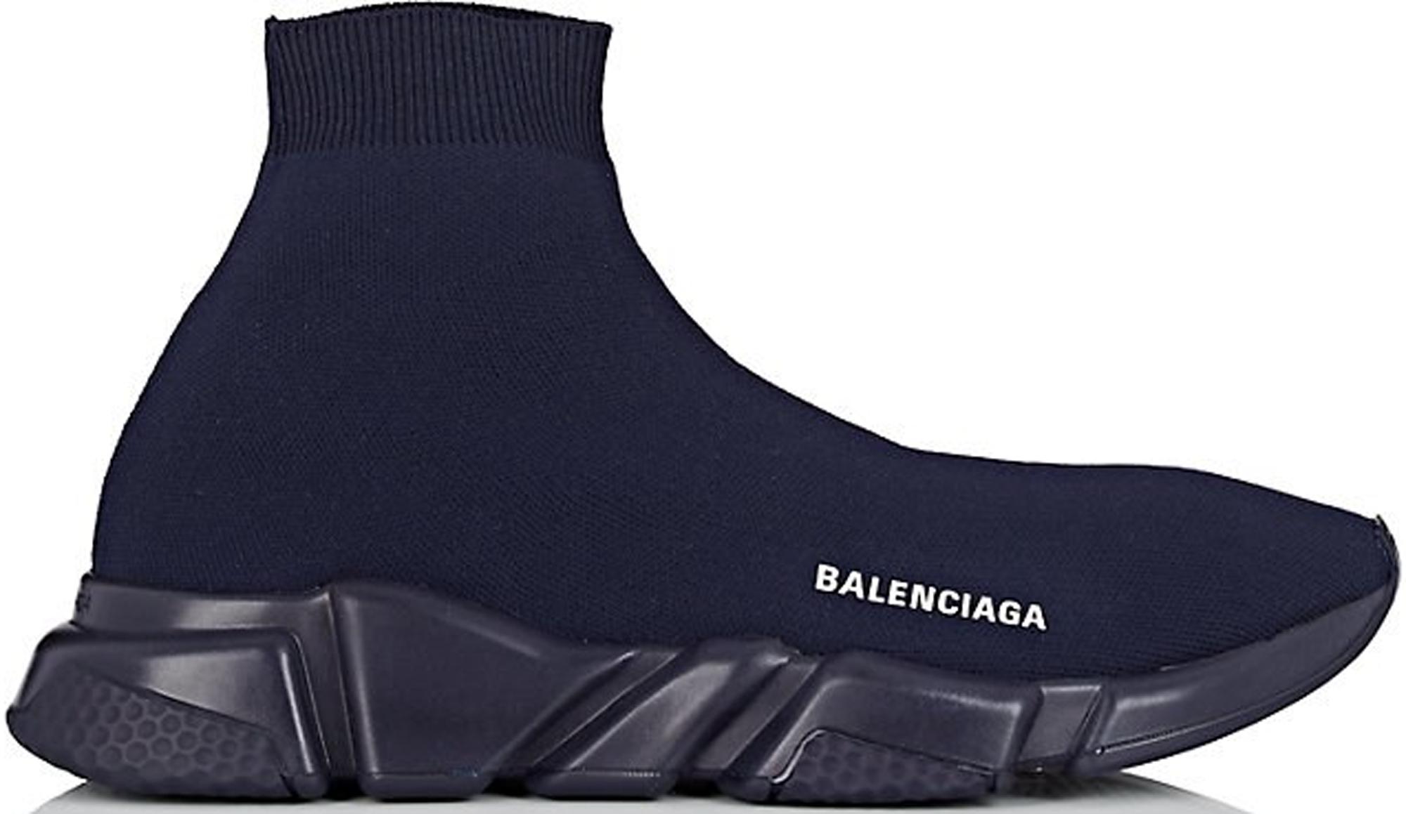 Balenciaga Speed Trainer Navy - 530353