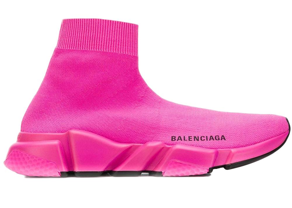 Balenciaga Speed Trainer Pink Black