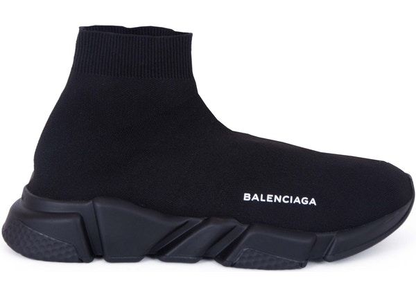 0d795d64e3aa Balenciaga Speed Trainer Triple Black - 485625-W05G0-1000