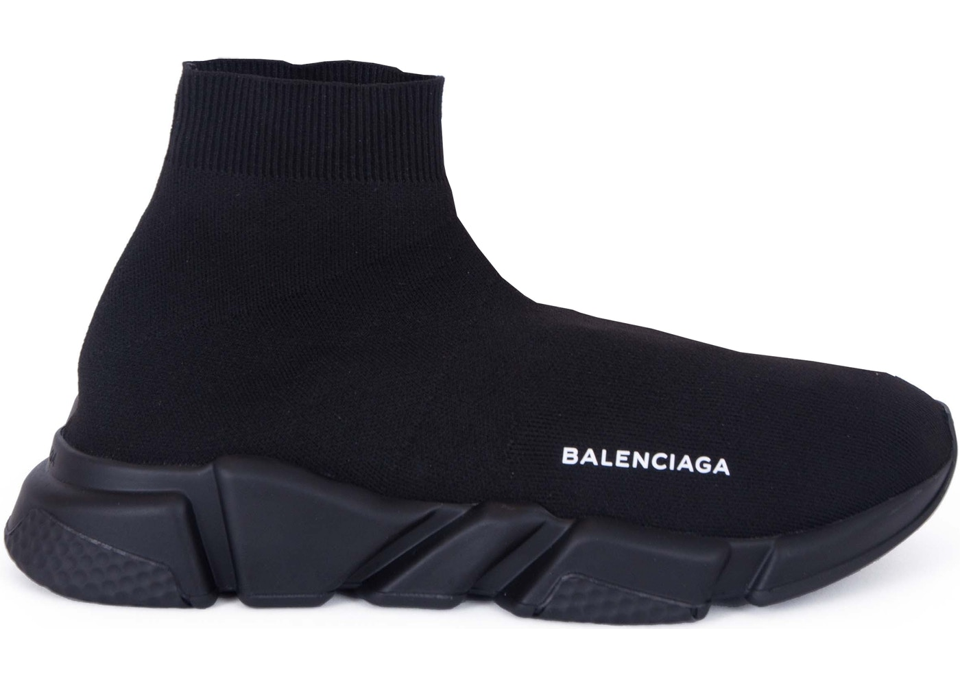 Balenciaga Speed Trainer Triple Black - 485625-W05G0-1000 cf3fb9b8b