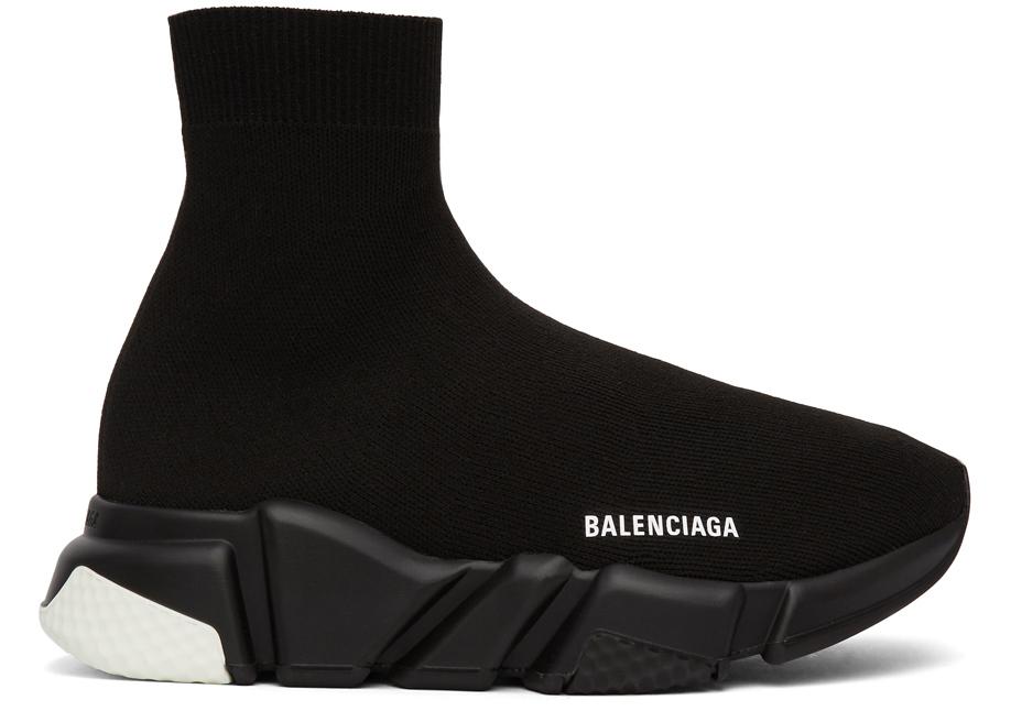 Balenciaga Speed Trainer White Heel