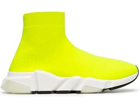 Balenciaga Speed Trainer Yellow Neon (W