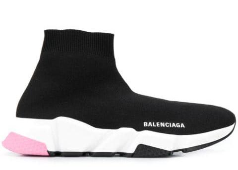 Balenciaga Speed Trainers Mid Black