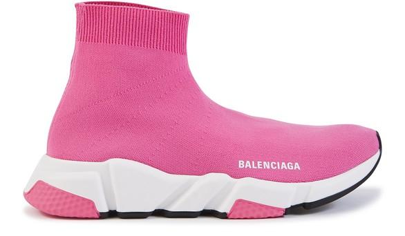 Balenciaga Speed Trainers Mid Pink