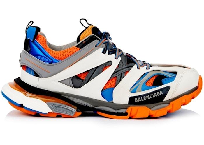 Balenciaga Track Orange Blue สตรีท สนีกเกอร์ street sneaker