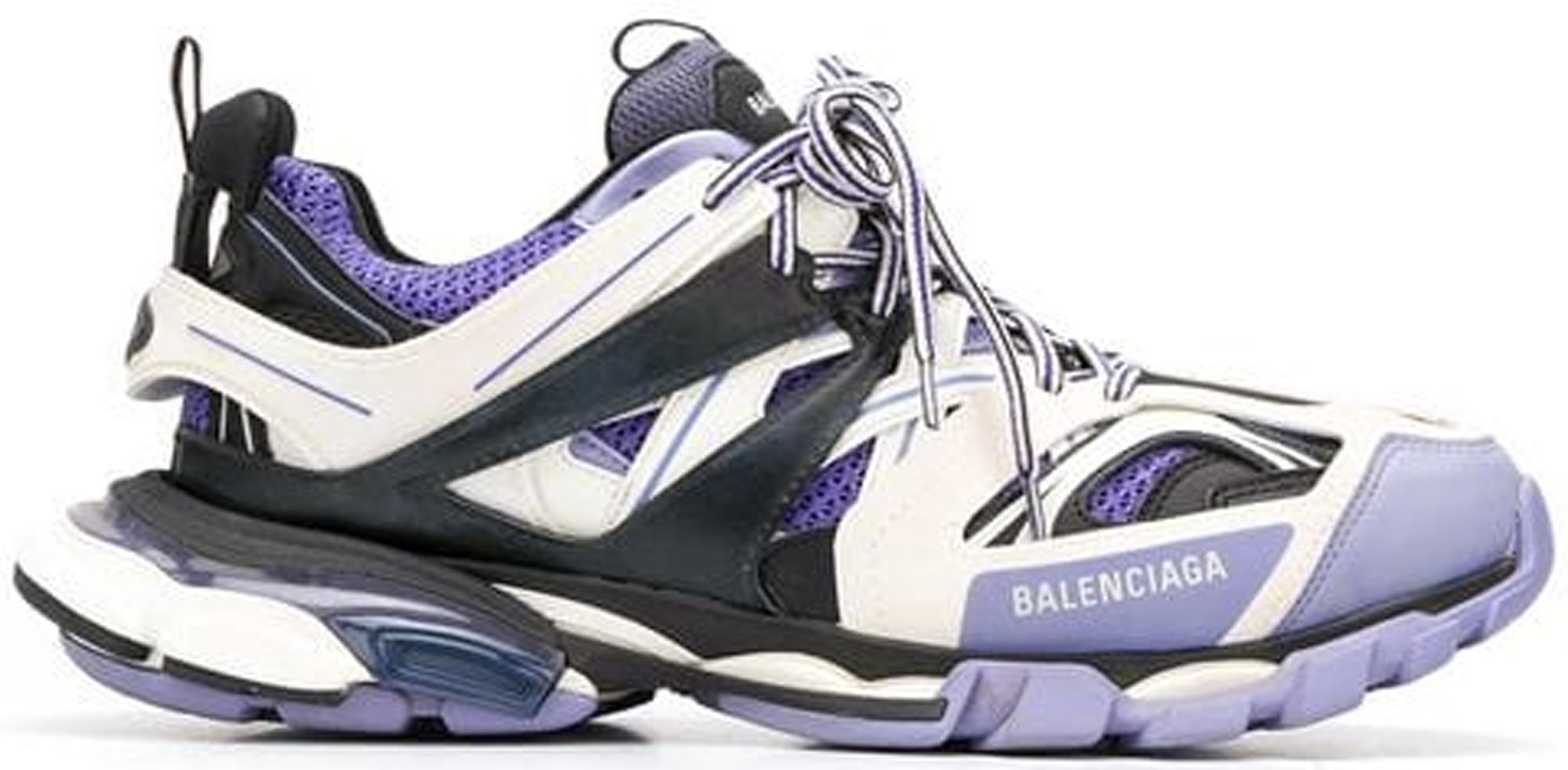 Balenciaga Track trainers in white and orange Pinterest