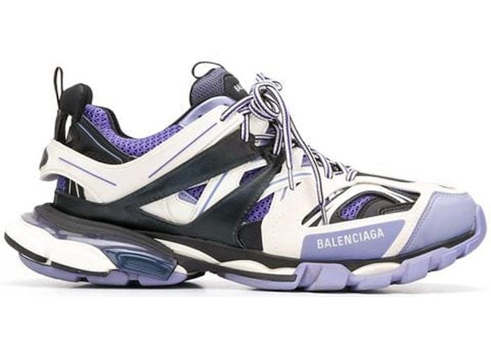 Balenciaga Track Purple White Grey