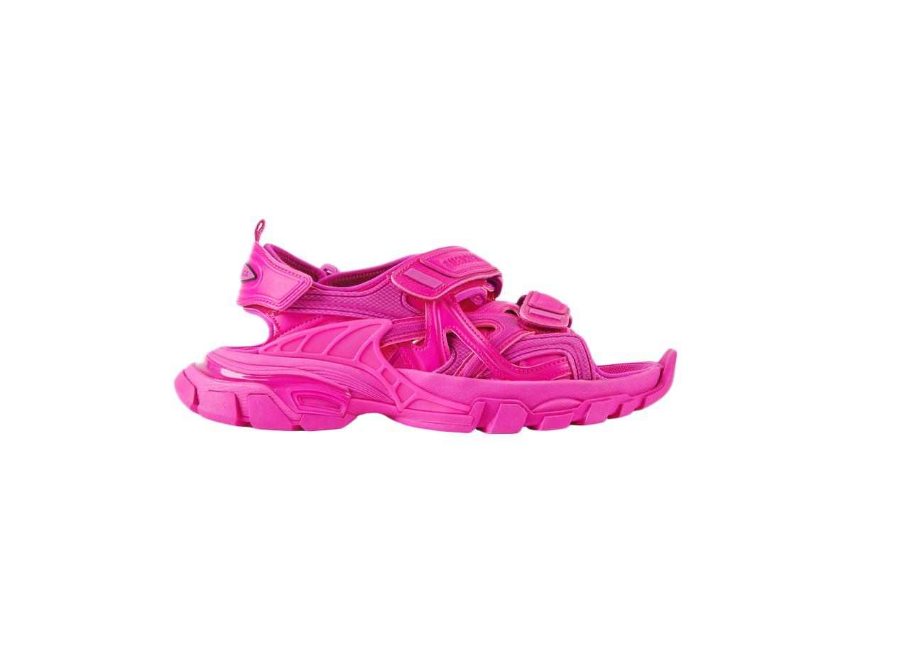 Balenciaga Track Sandal Rose Bubble Gum