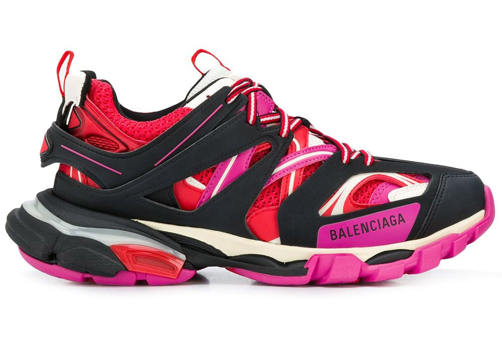 Balenciaga Track Trainers Pink Red (W
