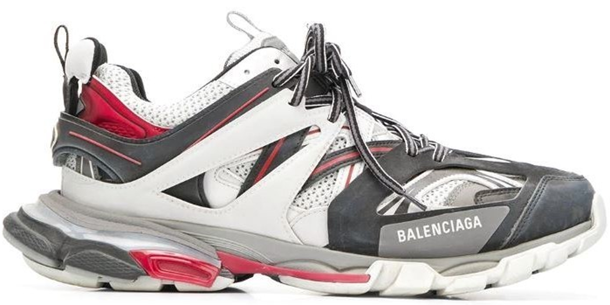 Balenciaga Track White Grey Red In White/Grey-Red