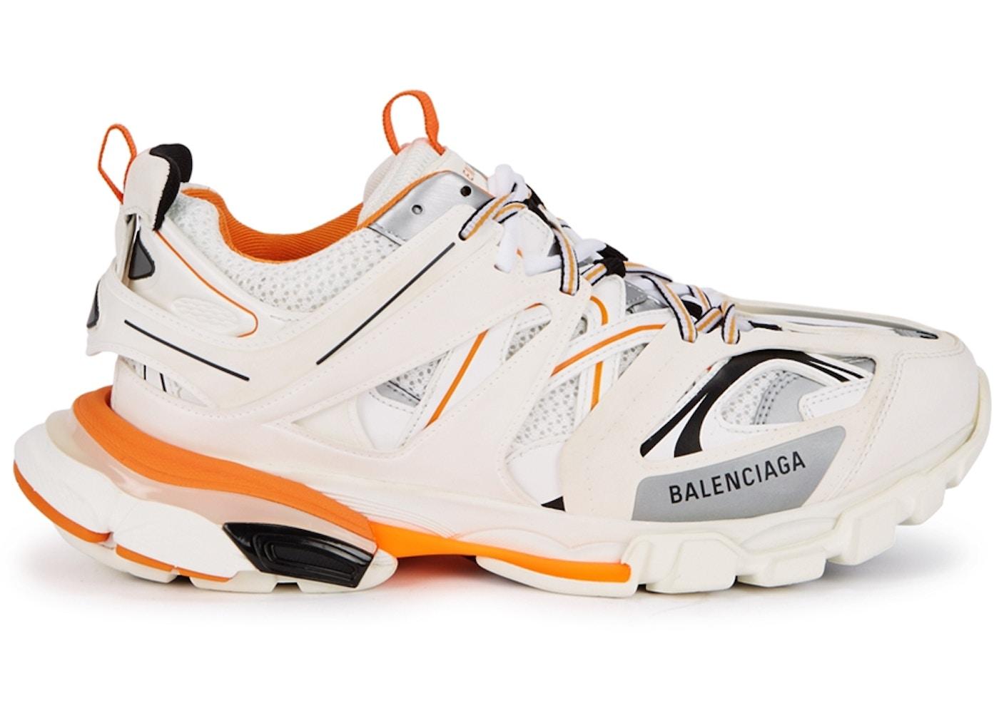 Balenciaga Track White Orange 542023w1gb19059