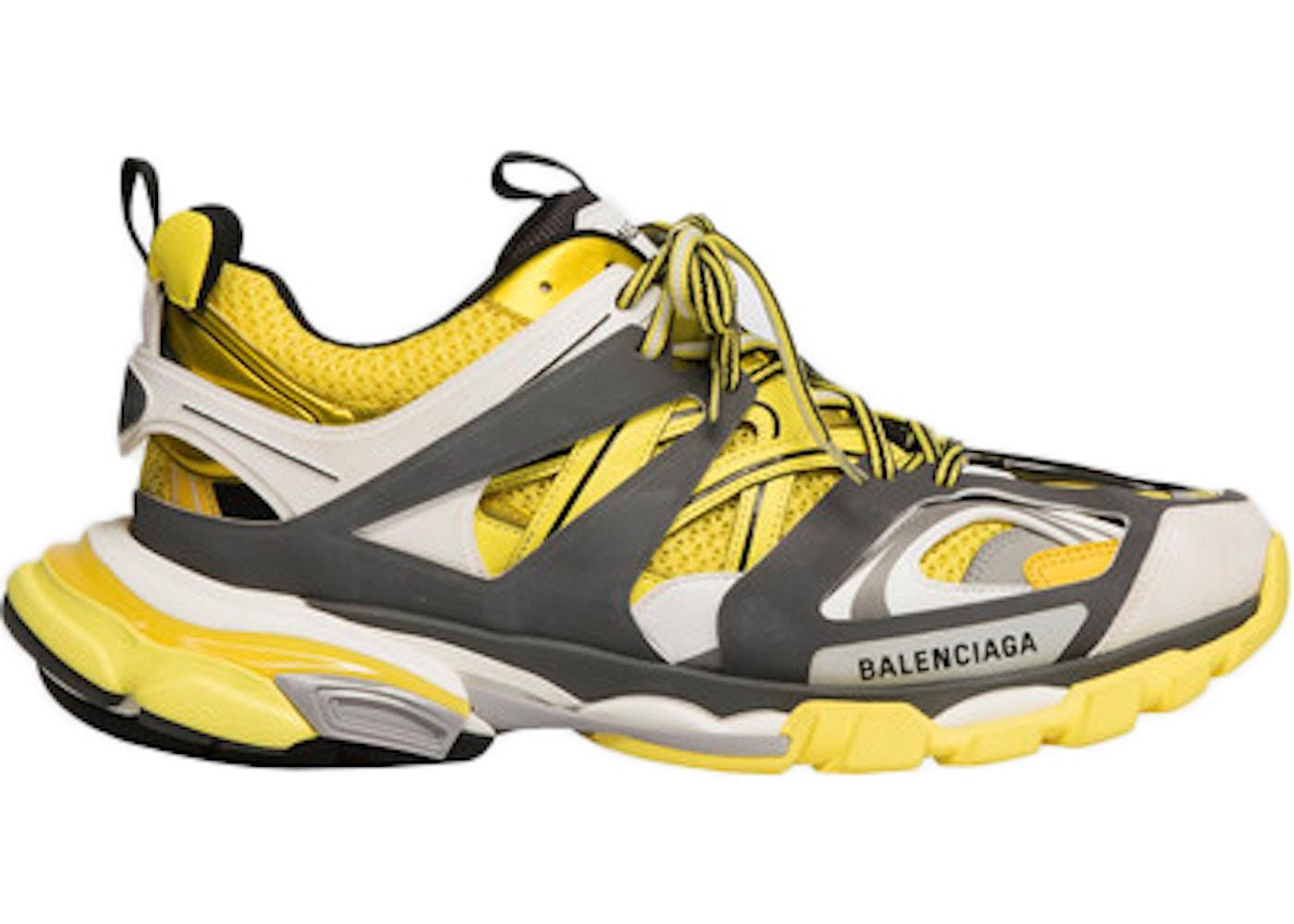Balenciaga Track Yellow