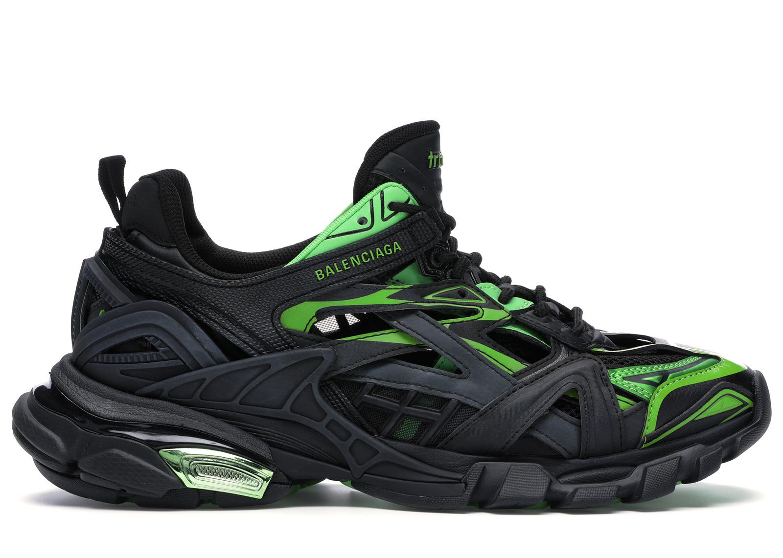 Balenciaga Track.2 Black Green