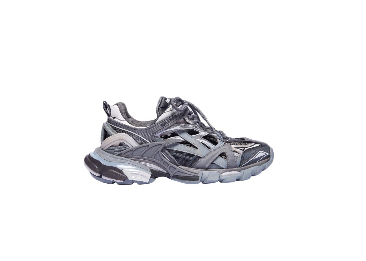 balenciaga track gray