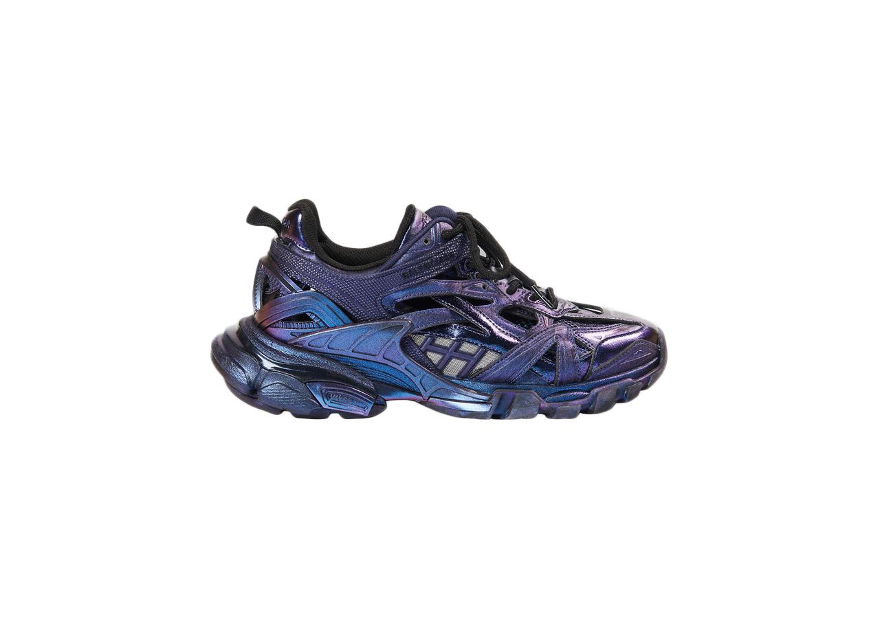 Balenciaga Track.2 Metallic Purple (W