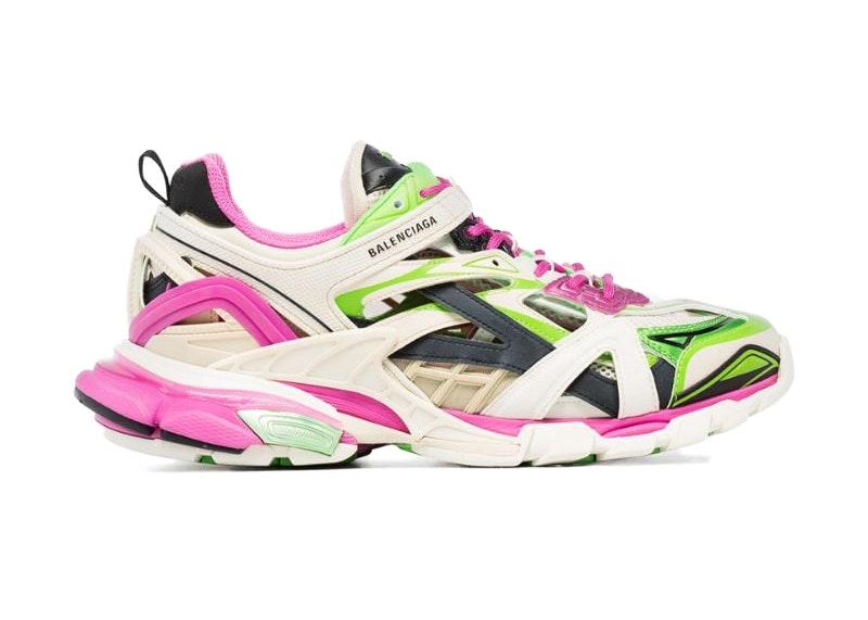 Balenciaga Track Sneakers Ayakkabı Erkek Gri Balenciaga