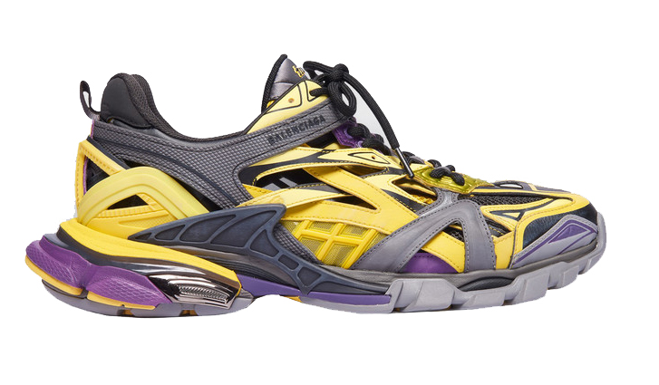 Balenciaga Track.2 Yellow Purple
