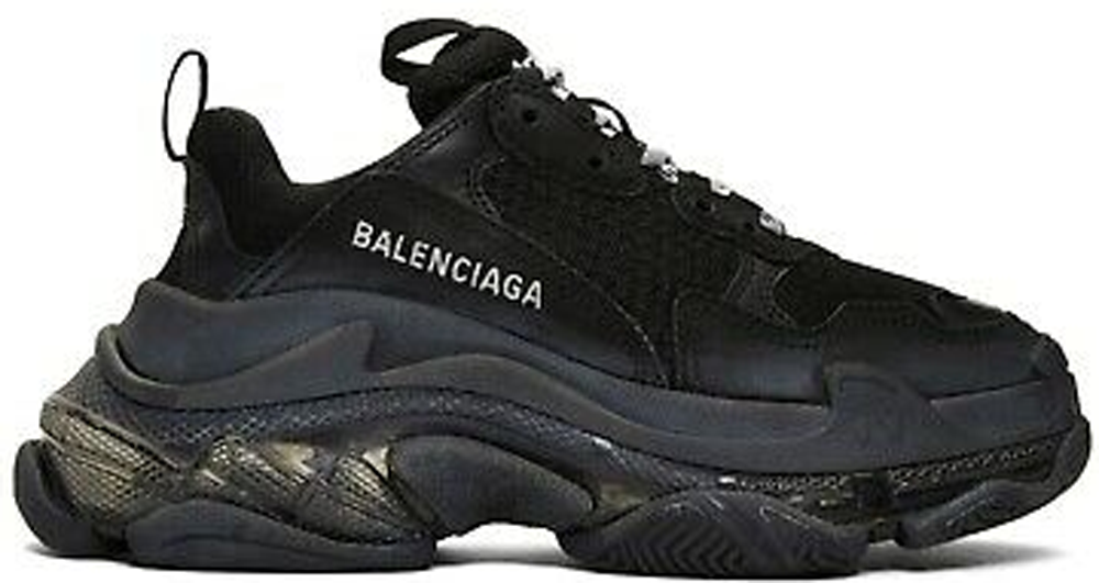 Balenciaga Triple S Black Clear Sole (W