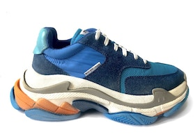 0401b2be959f Balenciaga Triple S Blue Orange - TBD