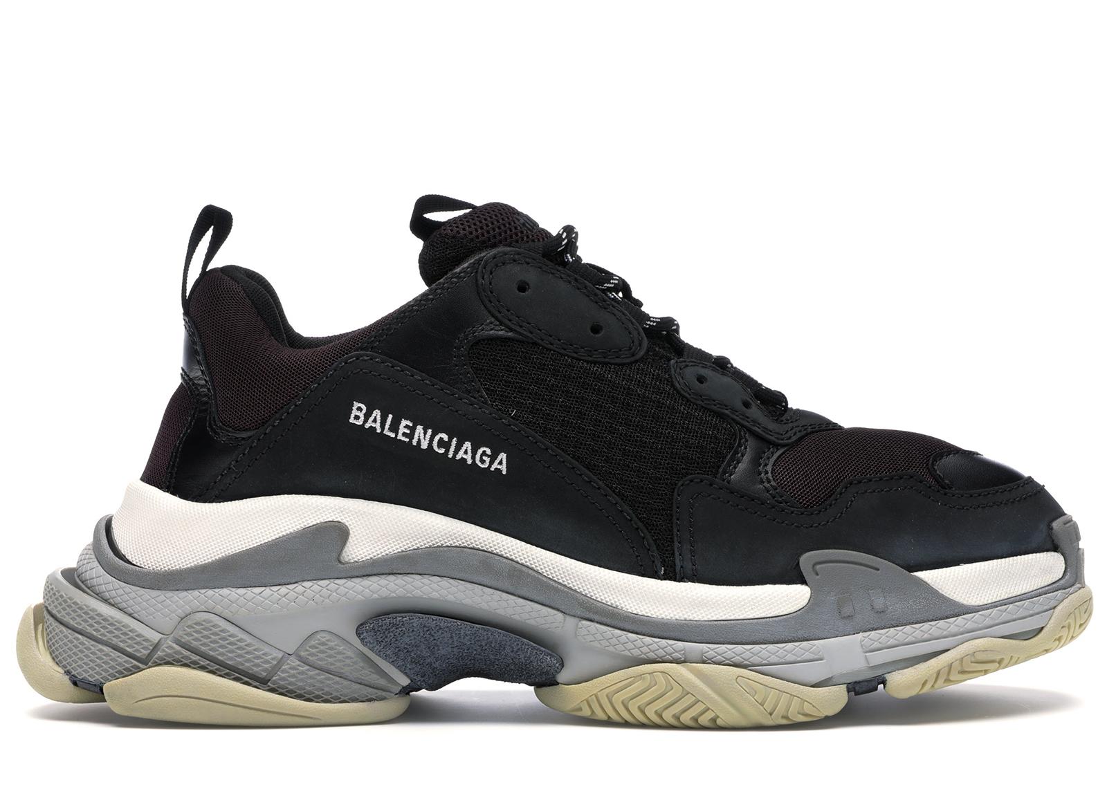 Balenciaga Triple S Burgundy - Sneakers