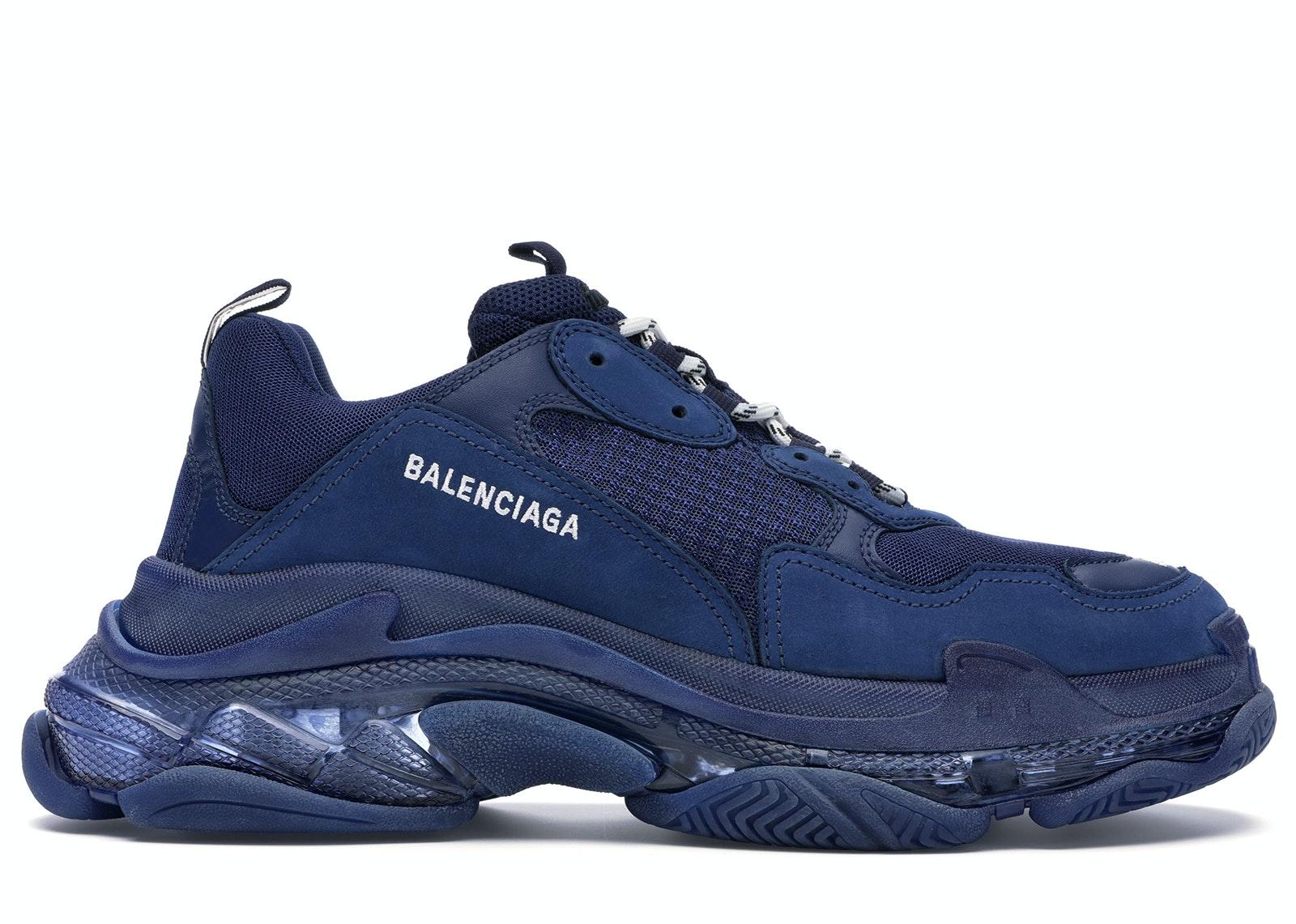 Balenciaga 10 Triple S Clear Sole Sneakers Grailed