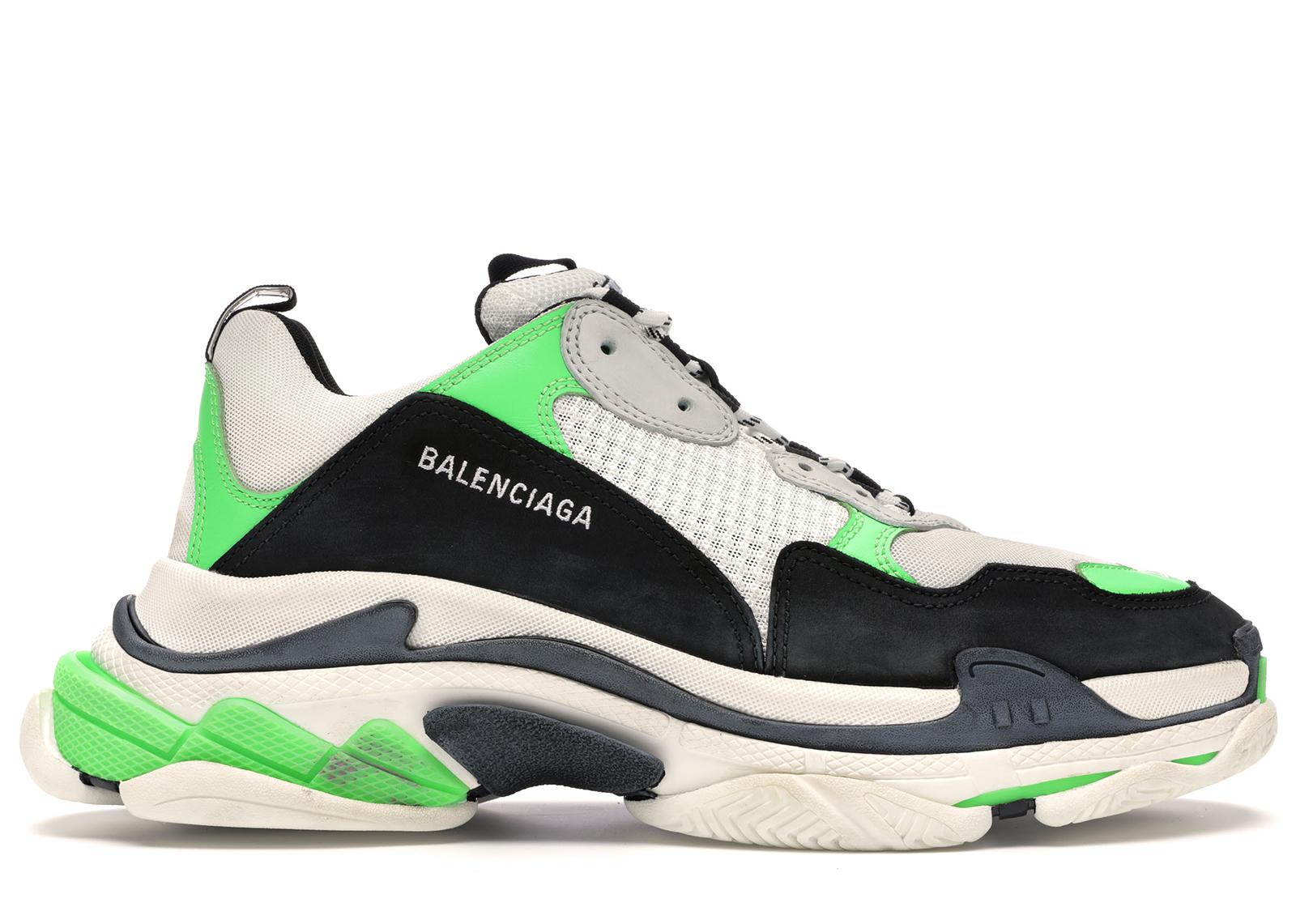 Balenciaga Triple S Green Black