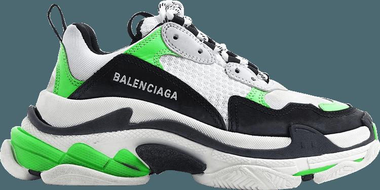 Balenciaga Triple S Green (W) - 524039