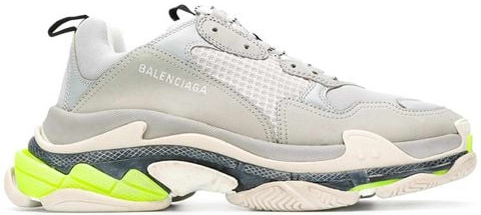 Balenciaga Triple S Grey Fluorescent