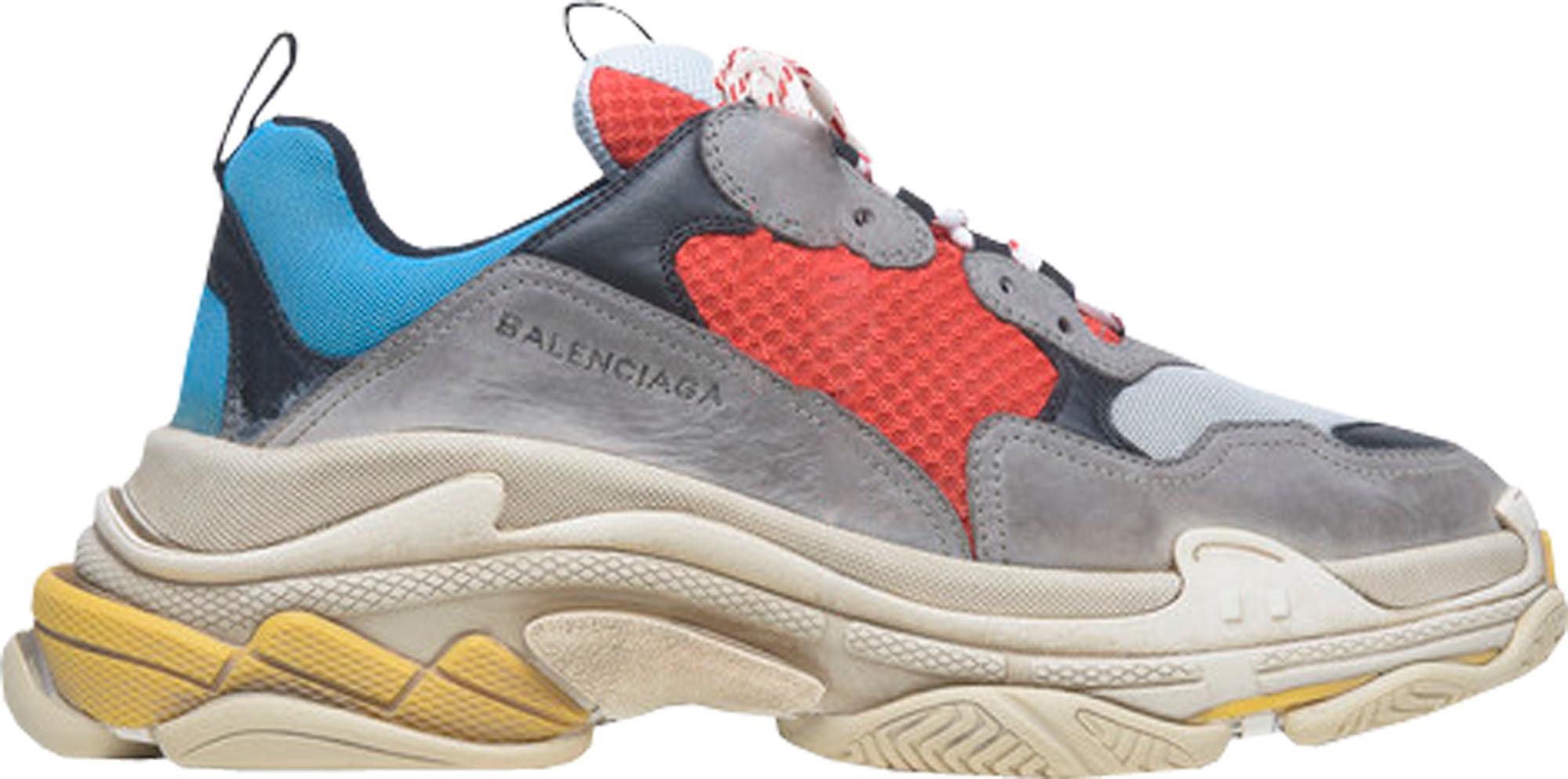 NEW BALENCiAGA TRiPLE S Pink 38 Trainer Sneaker
