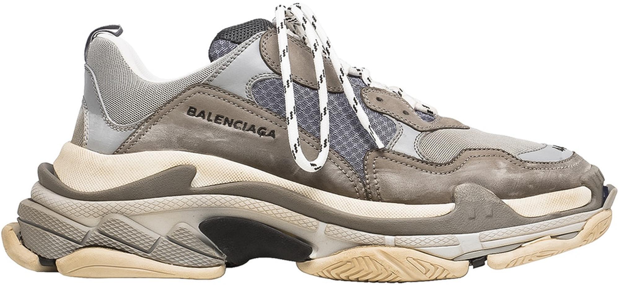 Balenciaga Triple S Sneakers - Grey