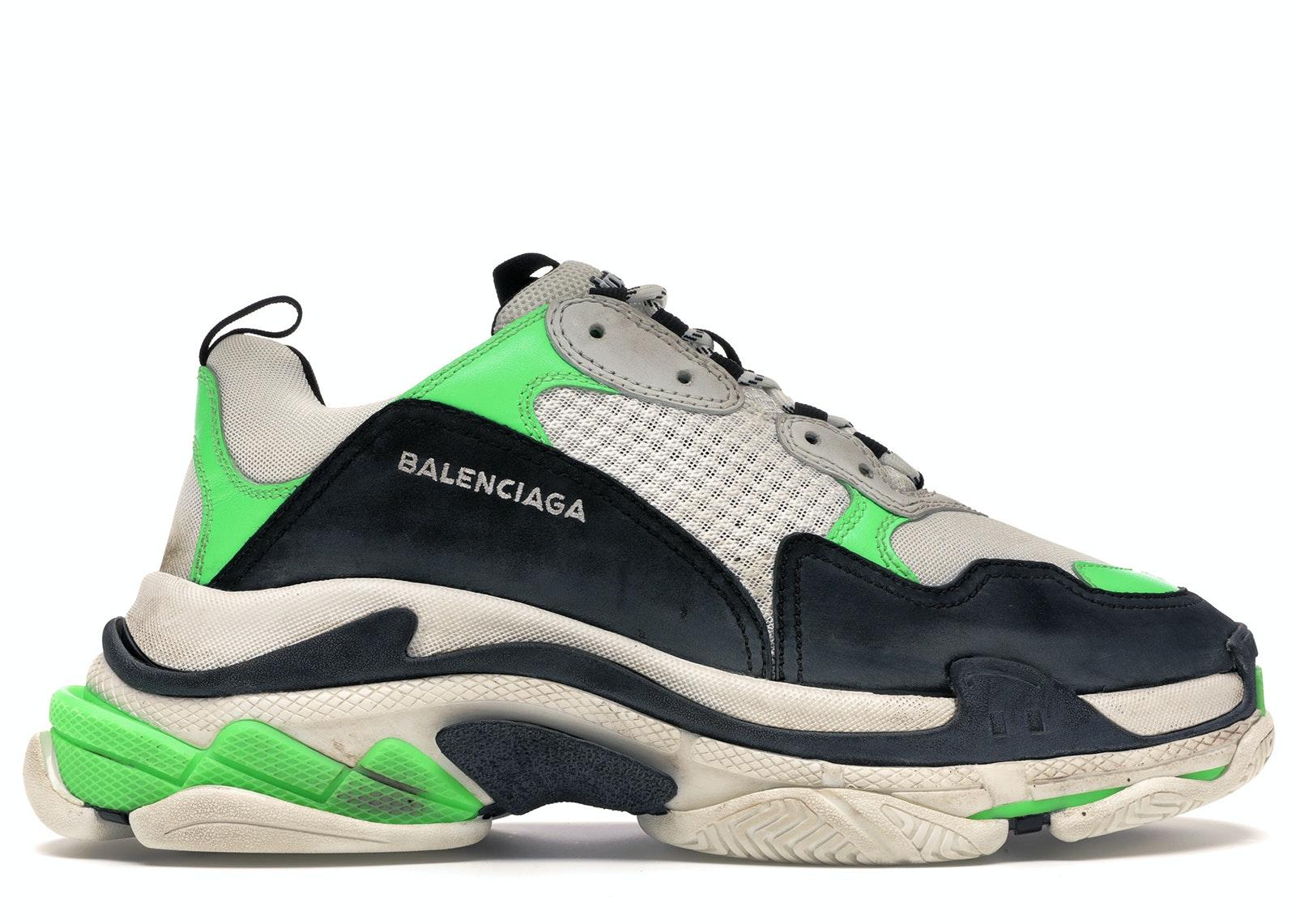 balenciaga triple s sneaker uomo lime verdi lemon gialle