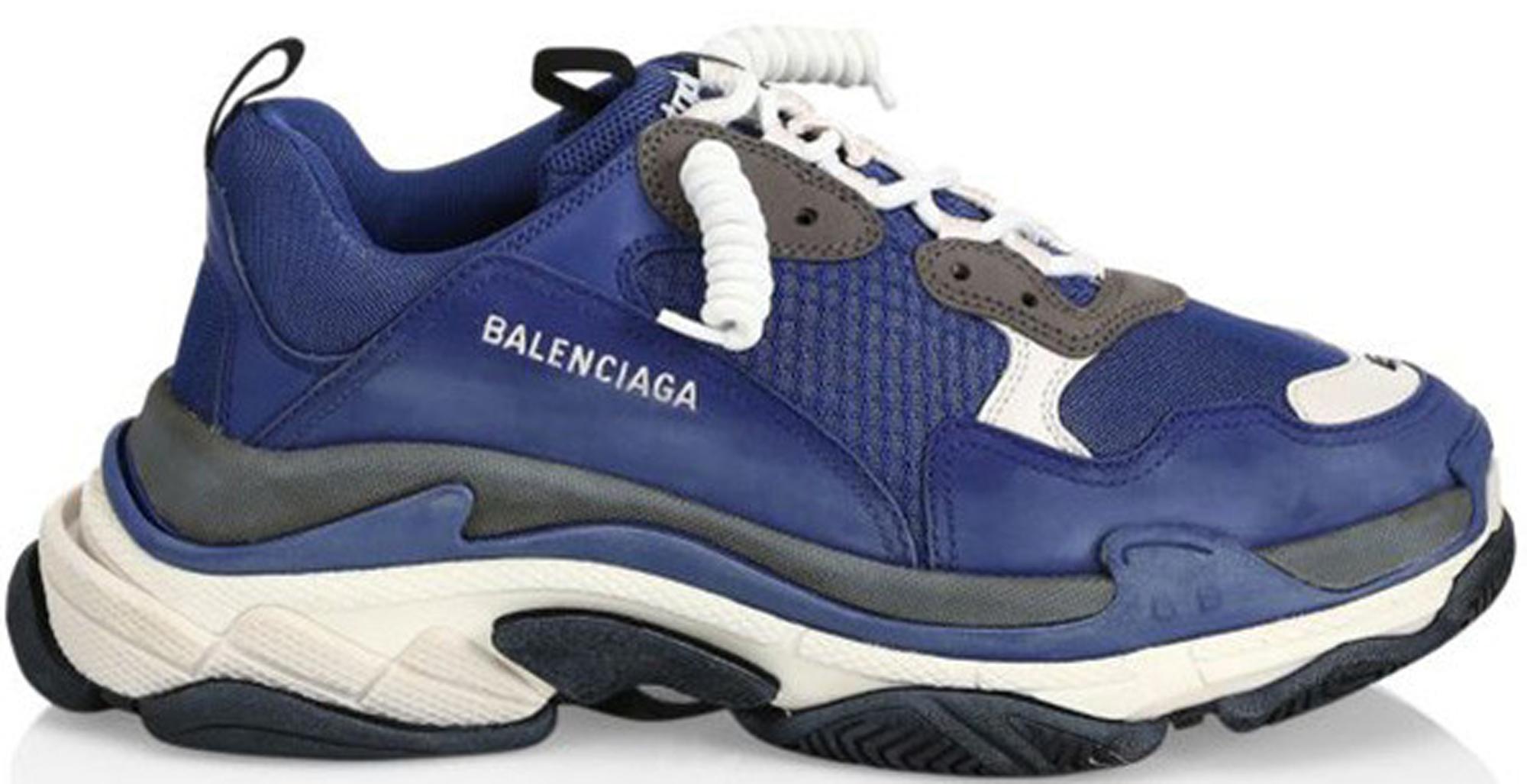 Balenciaga Triple S Navy - Sneakers