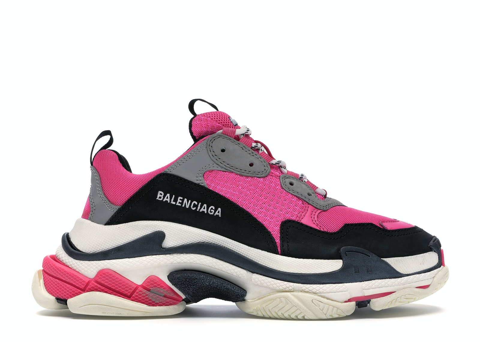 Triple s trainers Balenciaga Pink size 40 EU in Polyester