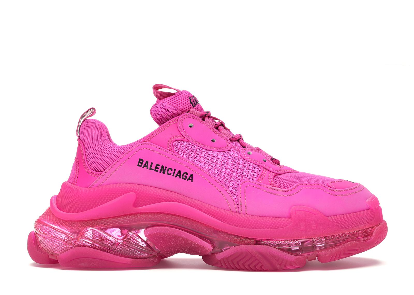 Balenciaga Triple S Pink (W