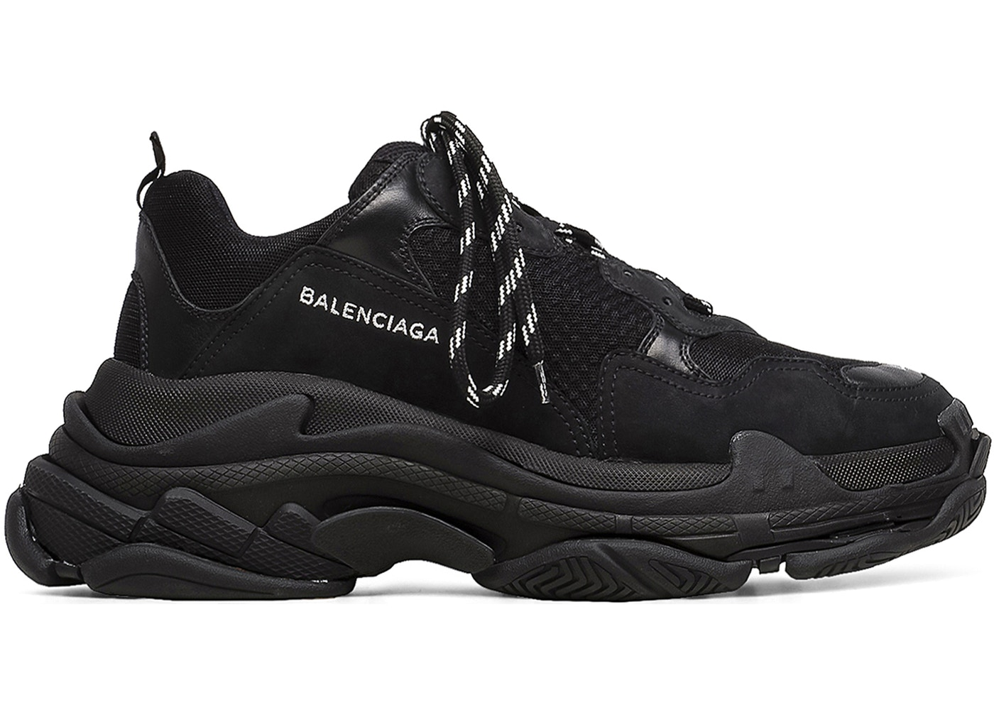 discount exclusive new online BALENCIAGA - Triple S Sneakers / Black with credit card cheap online discount best wholesale footlocker pictures for sale wLo9ttAQwM