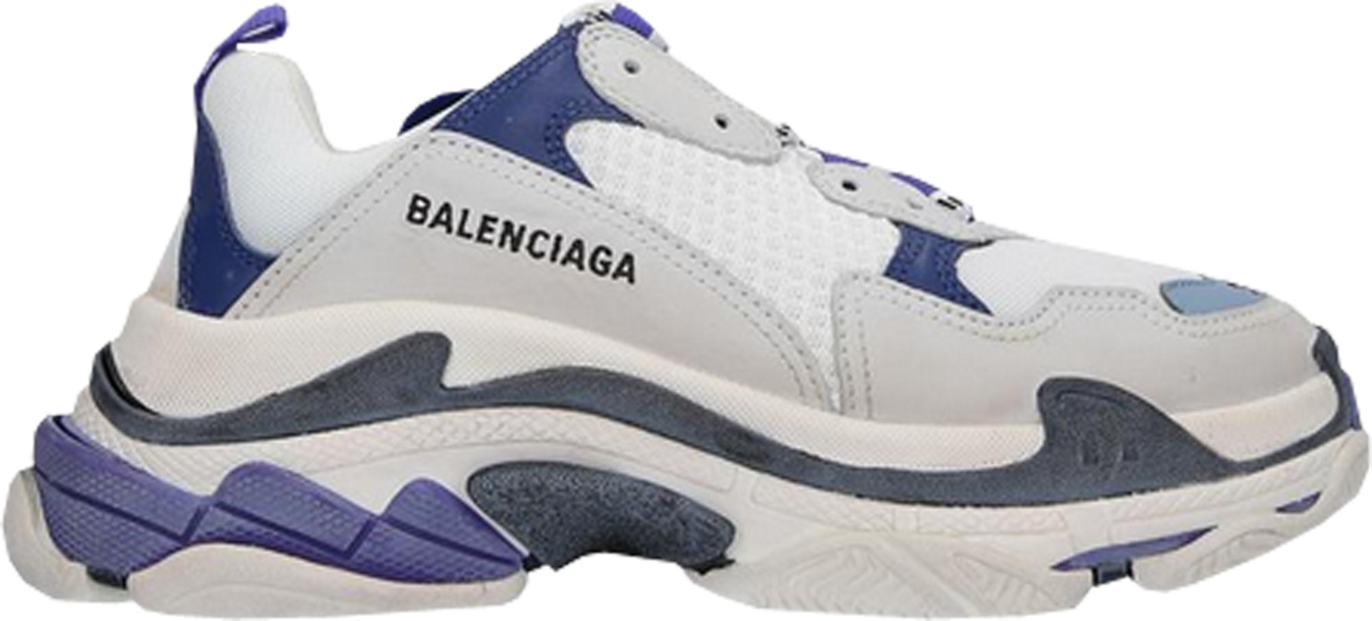 Balenciaga Triple S White Purple (W