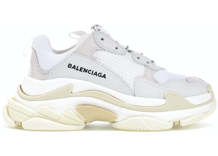 Balenciaga Triple S White (W) (2018 Reissue)