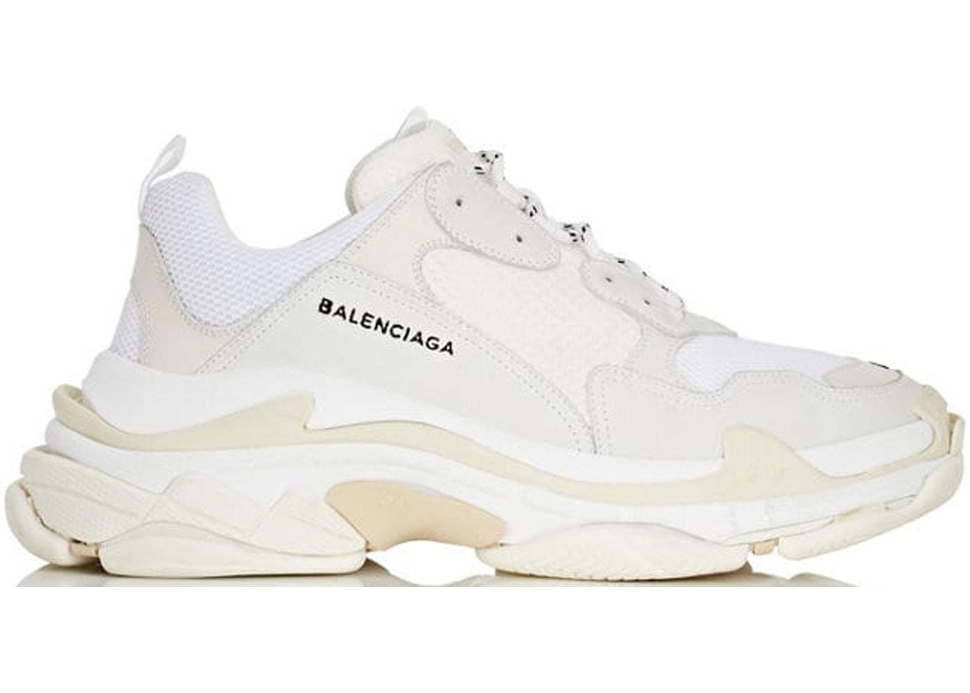 def6f72c2359 Balenciaga Triple S White - 483546W06F19000
