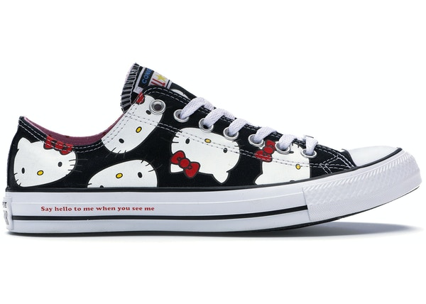 0346a31e5d1 Converse Chuck Taylor All-Star Ox Hello Kitty Black