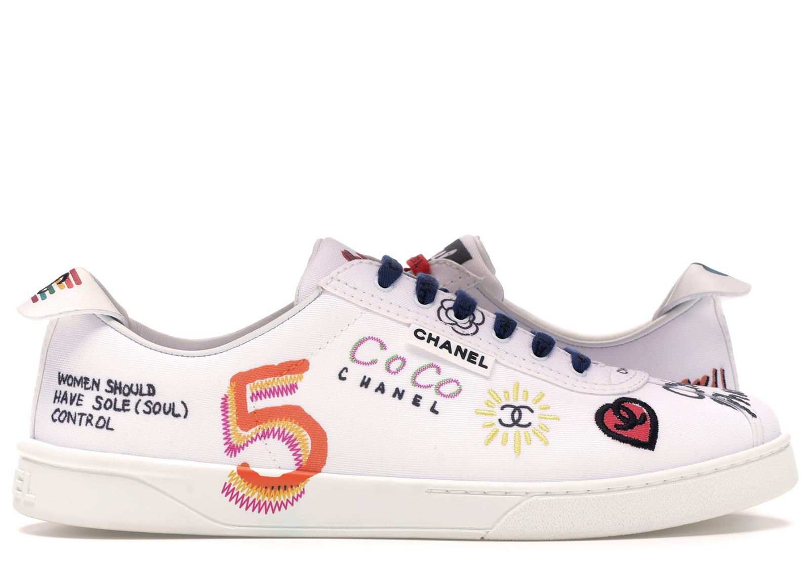 Chanel Sneakers Pharrell White Multi