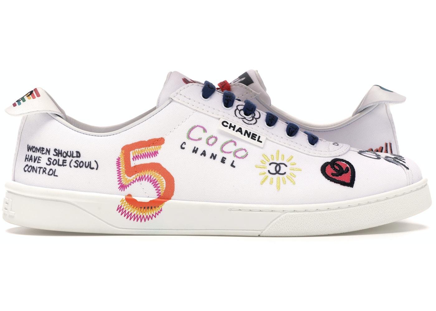 Chanel Sneakers Pharrell White Multi Color 19d G34878x53027 C2340 10b