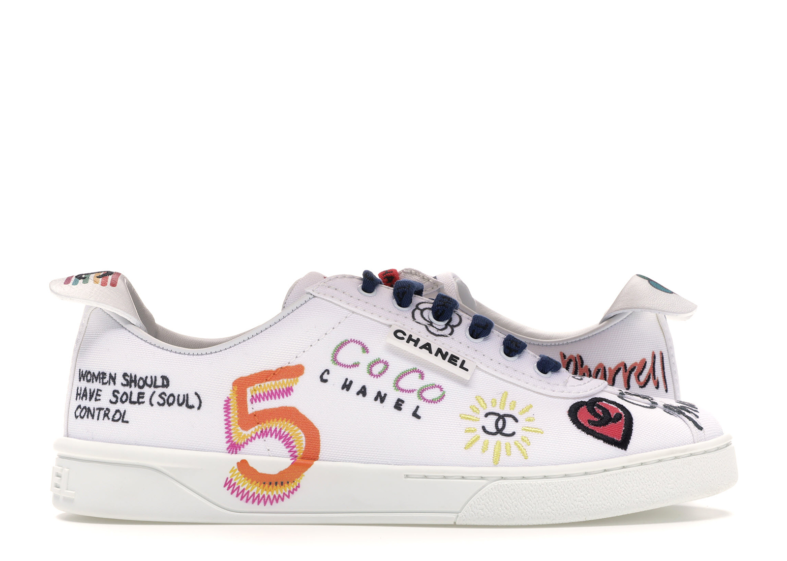 chanel and pharrell sneakers
